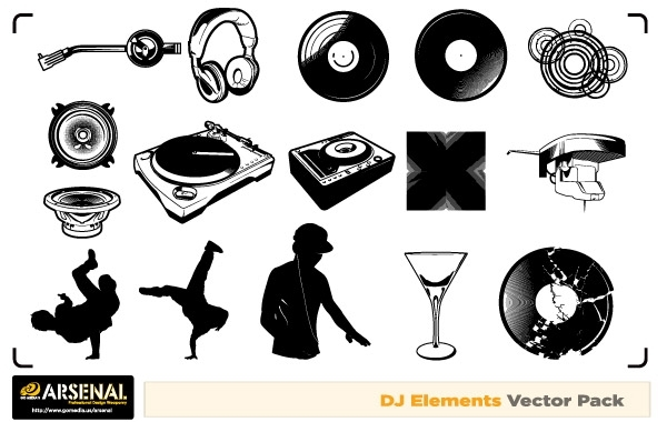 Free Free Dj & Graffiti vector artwork