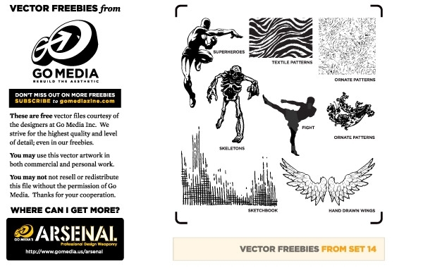 Free Vector Pack 14 Sampler