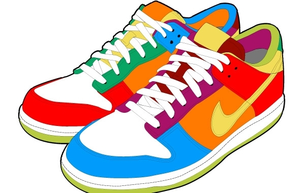Free Colorful Sport Shoes