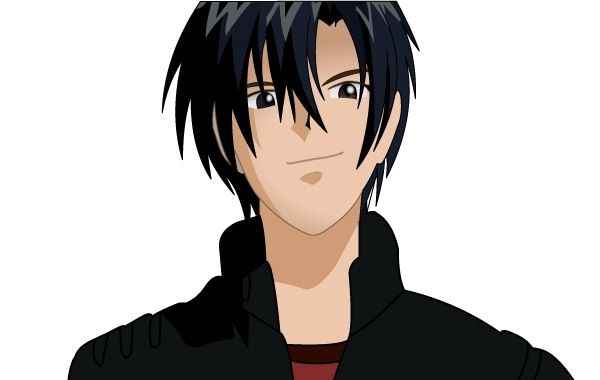 23+ Long Black Hair Anime Character PNG