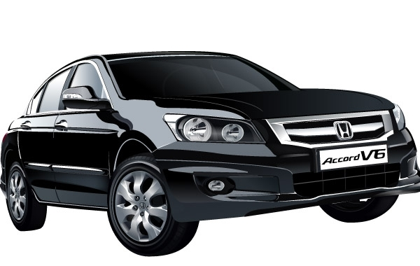 Free Honda Accord V6 car