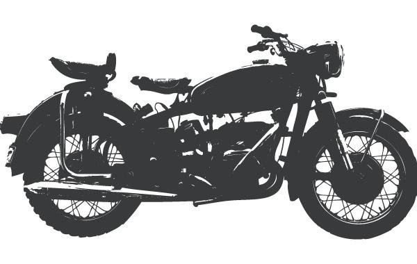 Free Vintage motorcycle