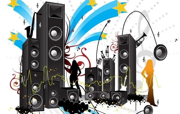 Free Vectors: FREE POP ART STYLE MUSIC VECTOR | Vector NET
