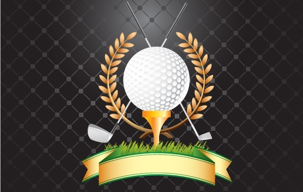 Free GOLF, GOLF CLUBS, WHEAT VECTOR