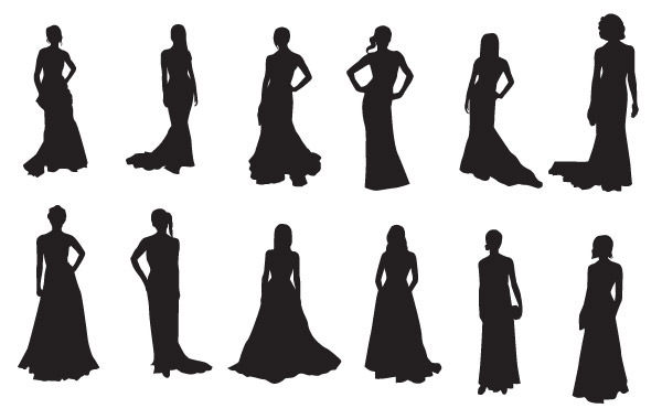 Free The Red Carpet:20 celebrities silhouettes