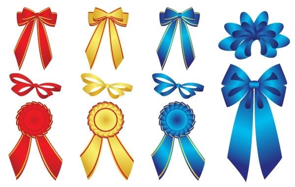 Free 15 free vector ribbons