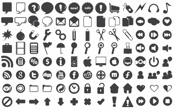 Free Vectors: 120 free new icons | pink moustache