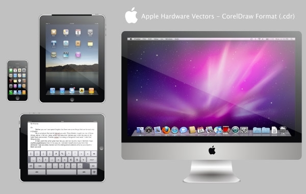 Free Apple Hardware Vectors