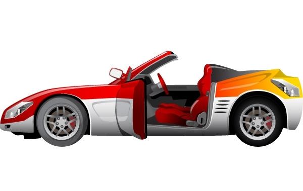 Free Vector Sport Car