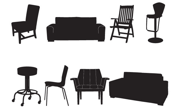 Free Take A Seat Vector Pack
