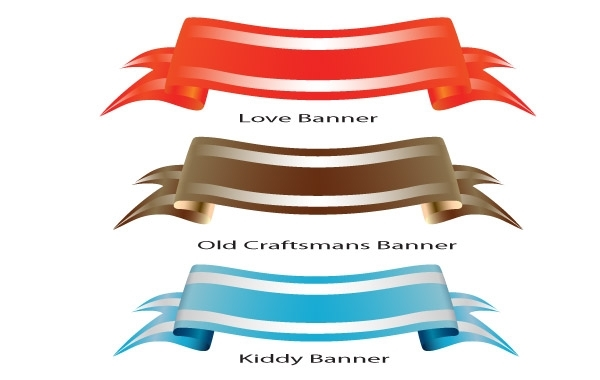 Free Theme Colored Banner Set
