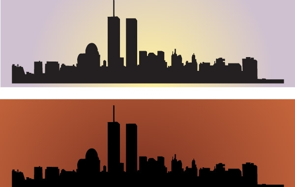 Free Vectors: Skyline US NewYork City Vectors | DragonArtz Designs