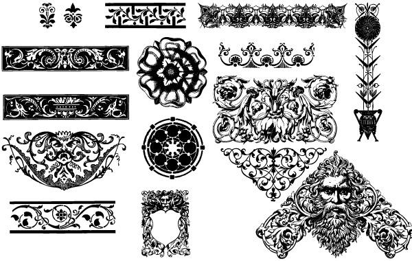 Free victorian ornaments