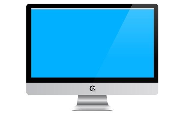 Free iMac Vector