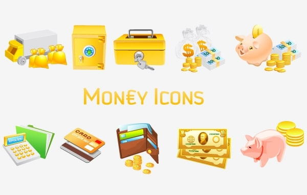 Free Money [Vista] Icons