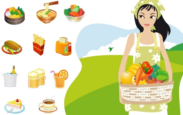 Free Food & Cooking Vector Graphics