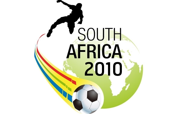 Free 2010 south africa world cup wallpaper vector
