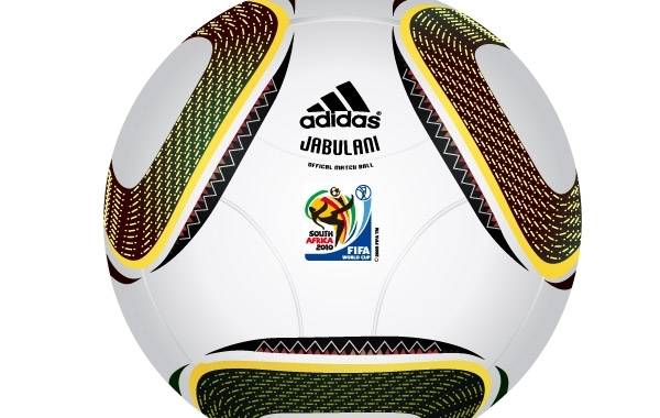 Free Fifa 2010 world cup ball vector