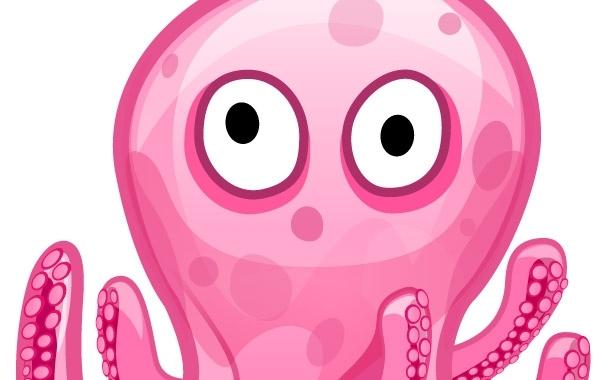 Free Free vector art-Octopod