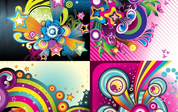 Free Vectors: Wonderful backgrounds | Garcya