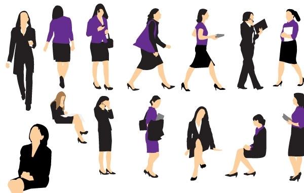 Free Business Woman Vectors