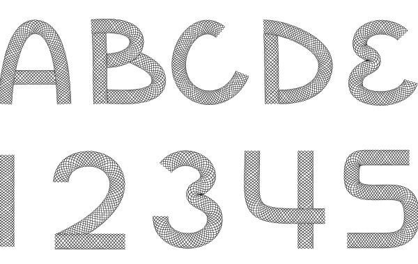 Free Wire Font
