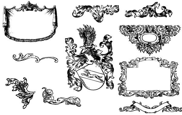 Free Heraldry & Flousrishes