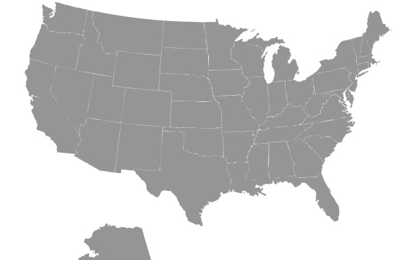 Free Us Map Vector