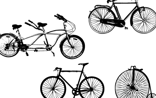 Free Vector Art: Bikes