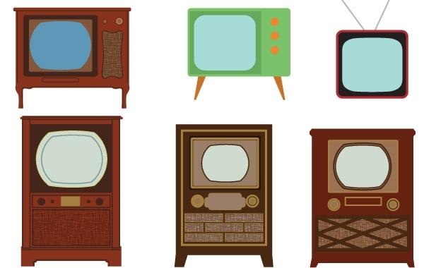Free TV Vector art
