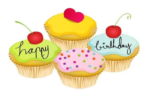 Free May Cupcake Vectors