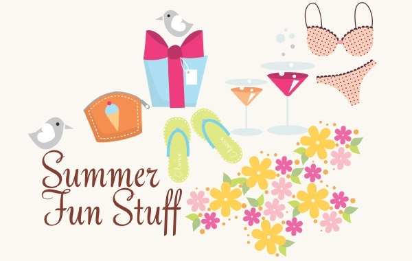Free Summer Vector Icons and Fun Stuff