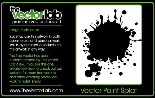 Free Vector Splat