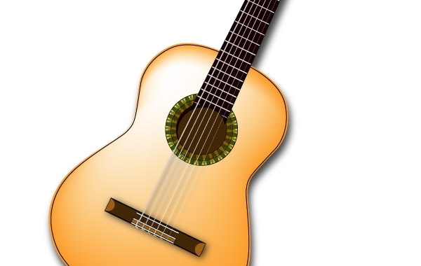 Free Spanish Guitar Vector