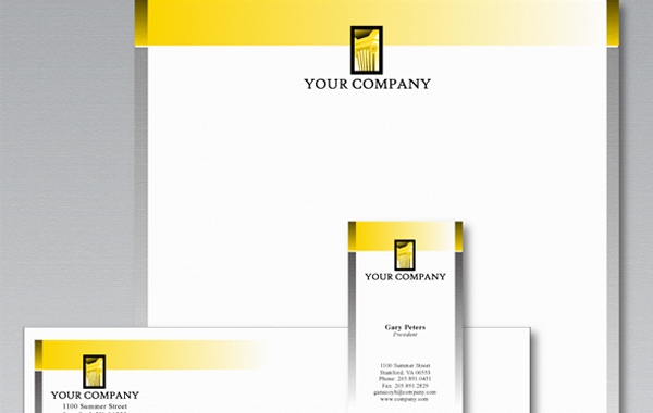 Free Stationery template by logobee