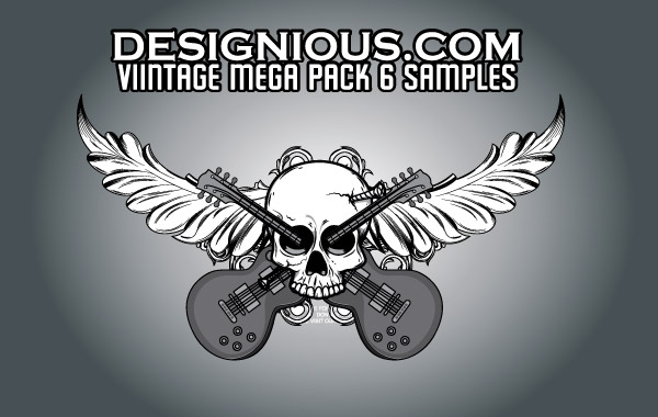 Free Vintage Mega Pack 6 free samples