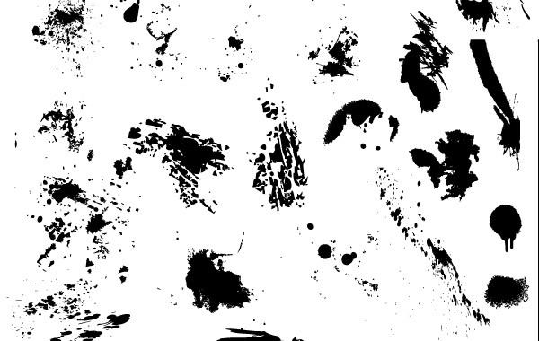 Free 25 Free Vector Drips, Drops, and Splatters
