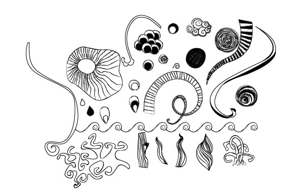 Free Handdrawn Vector Doodles