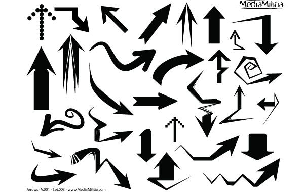 Free Arrow Vector Pack