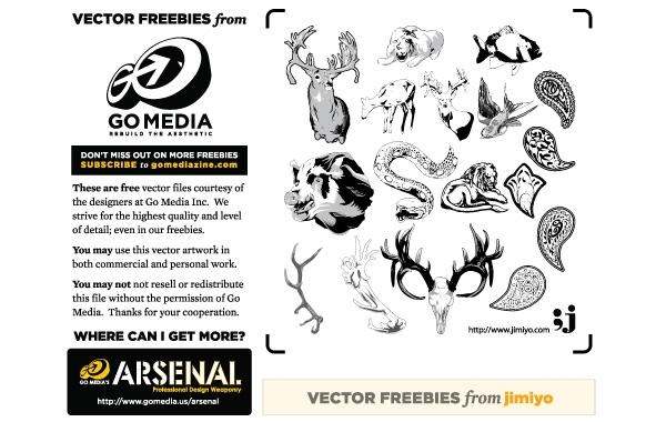 Free Animal Vectors from Jimiyo