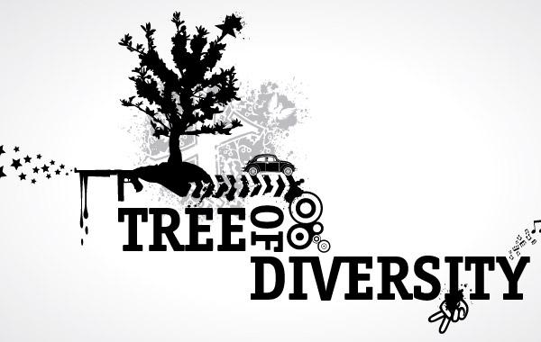 Free Tree of Diversity