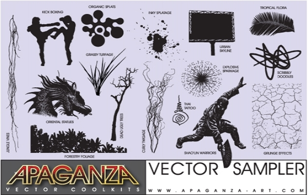 Free Apaganza Vector CoolKit Sampler