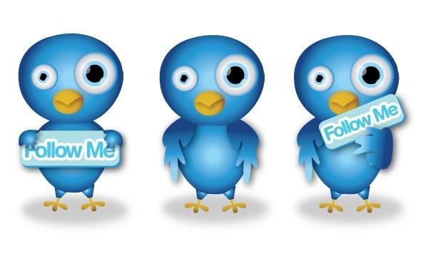 Free Cute Twitter Birds