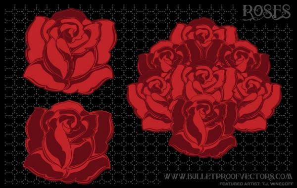 Free Tattoo roses