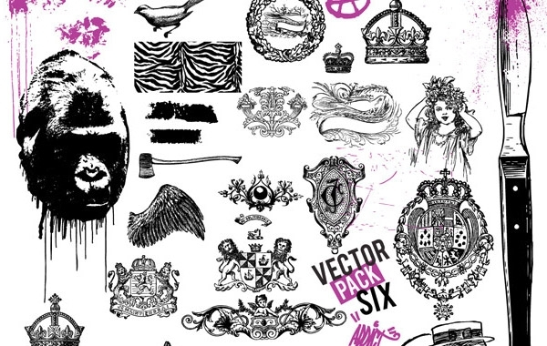 Free Vector Pack Sixx