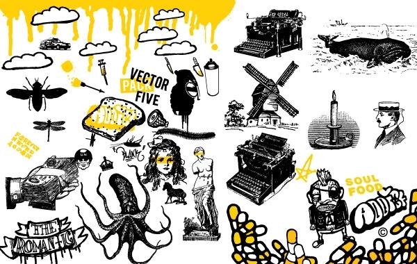 Free Vectors: Vector Pack 5 | Peter Fortin