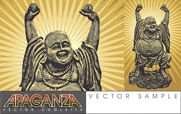 Free Laughing Buddha