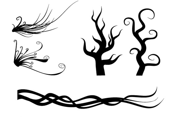 Free Isolated free vector Ornaments 5