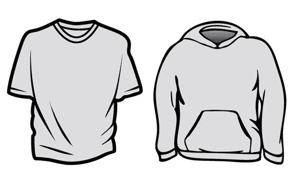 Free BlueCotton T-Shirt Templates