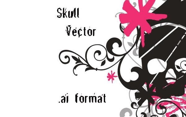 Free Skull Vector AI
